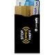Pacsafe RFIDsleeve 25 Portfel 2 Pack czarny